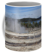 Yellowstone National Park - Hot Springs Coffee Mug