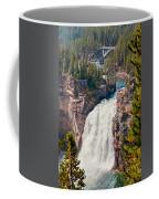 Yellowstone Upper Falls Coffee Mug