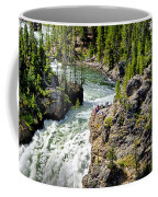 Yellowstone - Upper Falls Coffee Mug