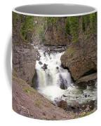 Yellowstone Waterfalls Coffee Mug