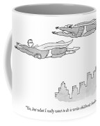 Yes, But What I Really Want To Do Is Write Coffee Mug