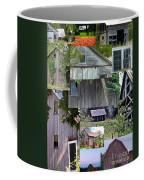 Yesterday Barns Collage Coffee Mug