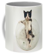 Yin Yang Kitten Coffee Mug