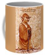 Yoda Wisdom Original Coffee Painting Coffee Mug