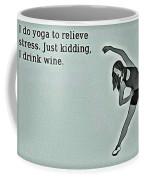 Yoga Wisdom Coffee Mug