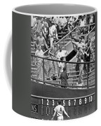 Yogi Berra Home Run Coffee Mug by Underwood Archives
