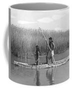 Yokuts Poling Tule Boats Coffee Mug