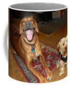 Yorkie And Ridgeback Coffee Mug