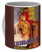 Yorkshire Terrier Art Canvas Print - Casablanca Movie Poster Coffee Mug