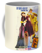 Yorkshire Terrier Art Canvas Print - Love In The Afternoon Movie Poster Coffee Mug