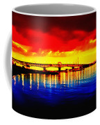 Yorktown Bridge Sunset Coffee Mug