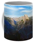 Yosemite Glacier Point Panorama Coffee Mug