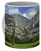Yosemite Upper And Lower Falls Coffee Mug