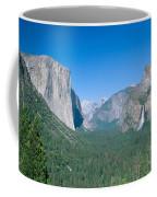 Yosemite Valley Coffee Mug by David Davis