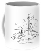 You And Your Damned Brooks Brothers Shirt! Coffee Mug by Charles E. Martin
