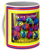 You Are Invited To A Birthday Party Coffee Mug