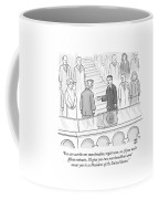 You Can Eat The One Marshmallow Right Now Coffee Mug by Paul Noth