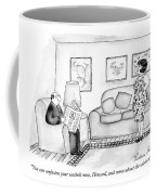 You Can Unfasten Your Seatbelt Now Coffee Mug