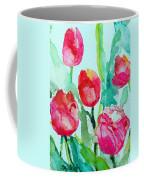 You Enlighten Me- Painting Of Tulips Coffee Mug