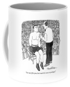 You May Inflict Pain Coffee Mug