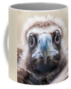 Young Baby Vulture Raptor Bird Coffee Mug