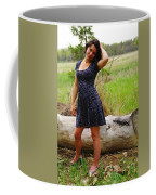 Young Beauty Coffee Mug