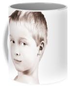 Young Boy Coffee Mug