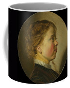 Young Boy In Profile  Coffee Mug