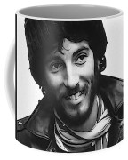 Young Bruce Springsteen Coffee Mug