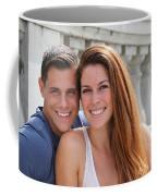 Young Couple Bridge Coffee Mug