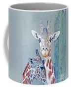 Young Giraffes Coffee Mug