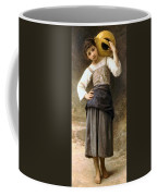 Young Girl Going To The Fountain Coffee Mug