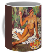 Young Half Caste Woman Coffee Mug