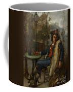 Young Italian Street Musician Coffee Mug by Thomas Couture