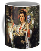 Young Japanese Lady Coffee Mug