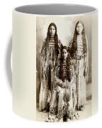 Young Kiowa Belles 1898 Coffee Mug