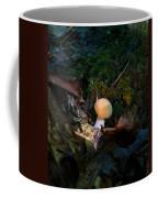 Young Lonely Mushroom 2 Coffee Mug