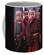 Young Monks II Coffee Mug