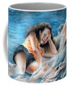 Young Tahitian Mermaid Coffee Mug