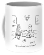 Young Woman To Older Man Coffee Mug