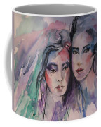 Young Women  Coffee Mug
