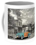 1946 Ford Sports Man Convertible  In Hillsboro N M  Coffee Mug