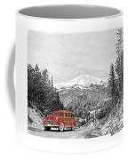 1946 Ford Special Deluxe Woody On Apache Summit Coffee Mug