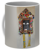 You're Standing In My Eye - Framed Coffee Mug