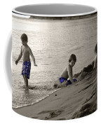Youth At The Beach Coffee Mug