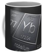 Ytterbium Chemical Element Coffee Mug