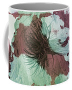 Yucca Abstract Sage And Mauve Coffee Mug
