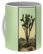 Yucca Cactus At Hesperia California Coffee Mug