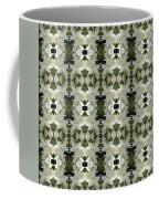 Yucca White Pattern Coffee Mug