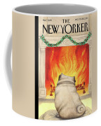 Yule Dog Coffee Mug